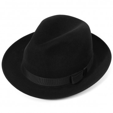 Mens Hats Best Sellers Christys Hats Epsom Fur Felt Racing Trilby Hat-CH-CSO100009 £150.00