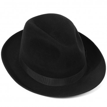 Mens Hats Best Sellers Christys Hats Epsom Fur Felt Racing Trilby Hat £150.00