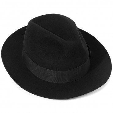 Fedora Hats Christys Hats Knightsbridge Fur Felt Fedora Hat-CH-CSO100012 £150.00