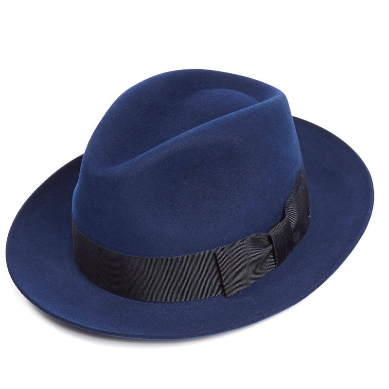 Trilbies & Pork Pies Christys Hats Bond Fur Felt Trilby Hat £150.00