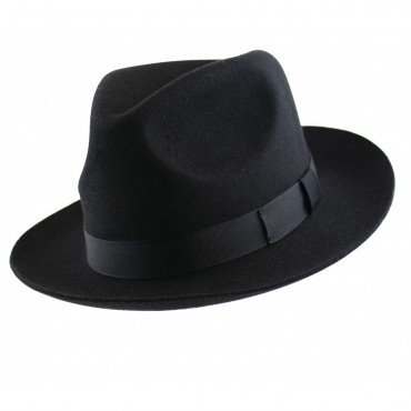Trilbies & Pork Pies Christys Hats Chepstow Wool Felt Trilby Hat-CH-CWF100011 £53.00
