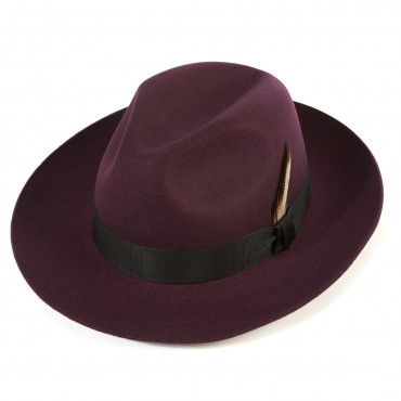Shop by Style Christys Hats Grosvenor Wool Felt Fedora-CH-CWF100024 £86.00