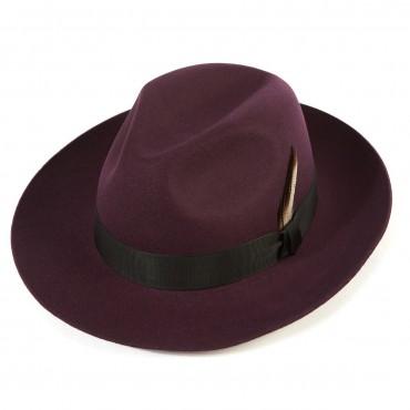 Shop by Style Christys Hats Grosvenor Wool Felt Fedora-CH-CWF100024 £86.00