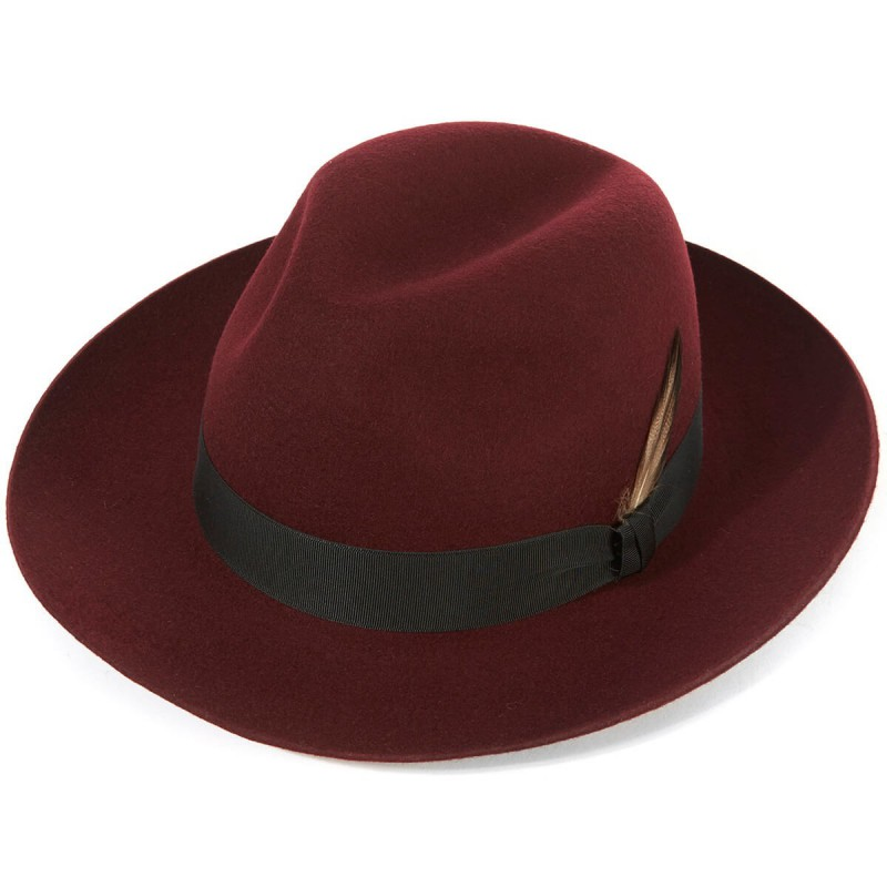 Shop by Style Christys Hats Grosvenor Wool Felt Fedora £86.00