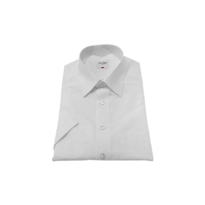 Kent Collar Olymp Shirts White Short Sleeve Olymp Shirt £40.00