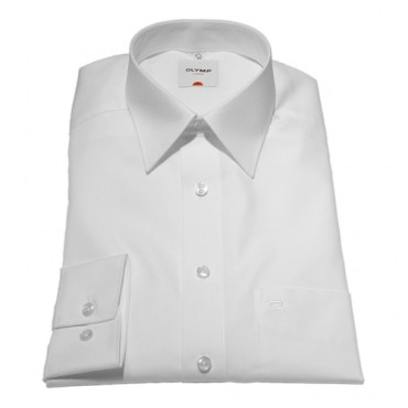 Sleeve Length 23'' -58cm Olymp Shirts Plain White Shorter Long Sleeve Length 23'' -58cm Olymp Shirt £50.00