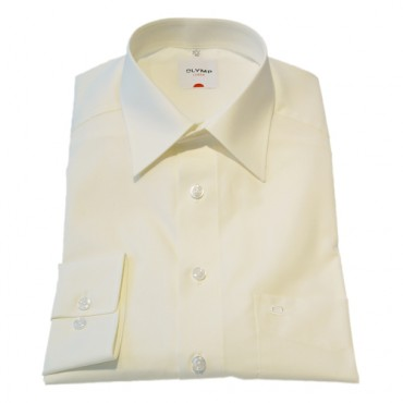Sleeve Length 23'' -58cm Olymp Shirts Ecru Cream Shorter Long Sleeve Length 23'' -58cm Olymp Shirt £40.00