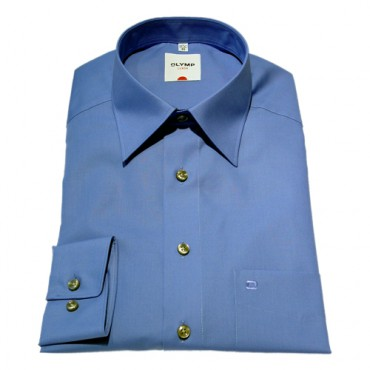 Sleeve Length 25''- 64cm Olymp Shirts Royal Blue Normal Sleeve Length 25''- 64cm Olymp Shirt £50.00