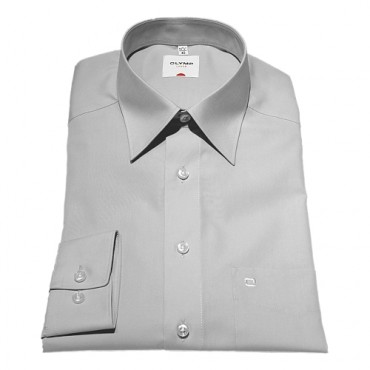 Sleeve Length 25''- 64cm Olymp Shirts Grey Normal Sleeve Length 25''- 64cm Olymp Shirt £40.00