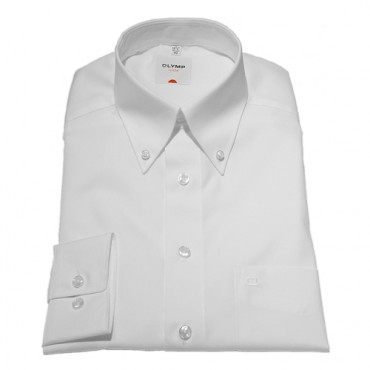 Button Down Collar Olymp Shirts White Extra Long Sleeve Length 27''- 69cm Olymp Shirt £40.00