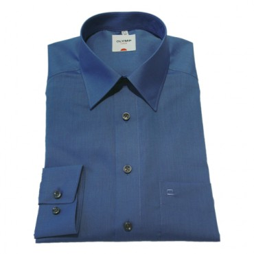 Sleeve Length 25''- 64cm Olymp Shirts Royal Blue Normal Sleeve Length 25''- 64cm Fil a Fil Olymp Shirt £45.00