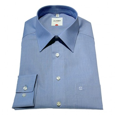 Kent Collar Olymp Shirts Light Blue Extra Long Sleeve Length 27''- 69cm Olymp Shirt £45.00