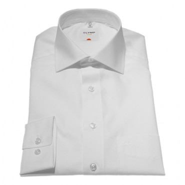 Long Sleeve Olymp Shirts Plain White Normal Sleeve Length 25''- 64cm Olymp Shirt £40.00