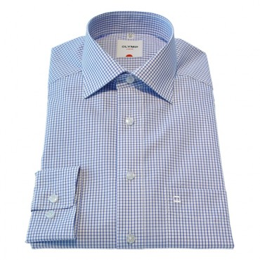 Patterned Olymp Shirts Neat Check Patterned Normal Sleeve Length 25''- 64cm Olymp Shirt £40.00