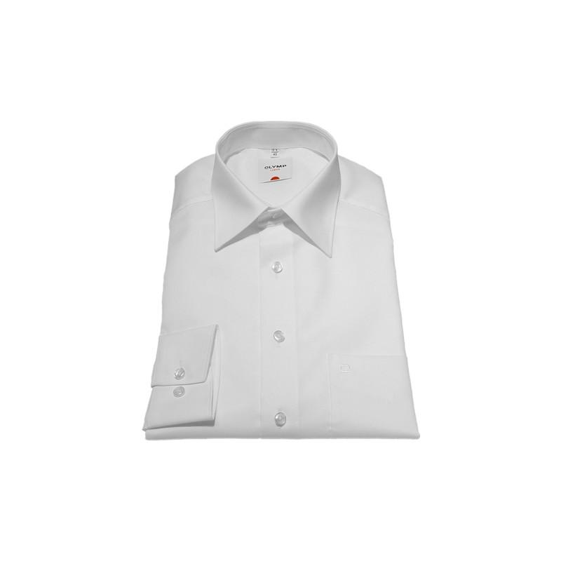 Sleeve Length 25''- 64cm Olymp Shirts Plain White Normal Sleeve Length 25''- 64cm Fil a Fil Olymp Shirt £45.00