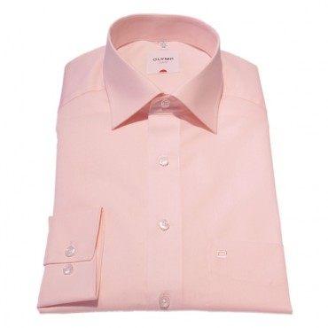 Sleeve Length 25''- 64cm Olymp Shirts Pink Chambray Normal Sleeve Length 25''- 64cm Olymp Shirt £45.00