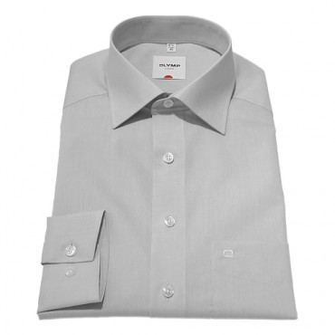 Sleeve Length 25''- 64cm Olymp Shirts Grey Chambray Normal Sleeve Length 25''- 64cm Olymp Shirt £45.00