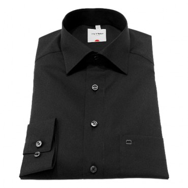 Sleeve Length 25''- 64cm Olymp Shirts Black Normal Sleeve Normal Sleeve Length 25''- 64cm Olymp Shirt £45.00