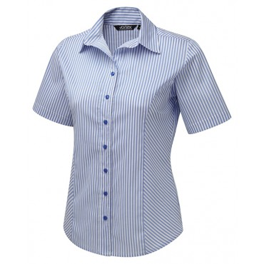 Blouses Vortex Designs Annika Short Sleeve Sky Blue £23.00