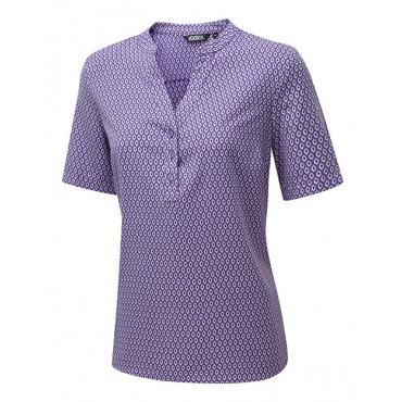 Tops Vortex Designs Beth Short Sleeve Berry £24.00