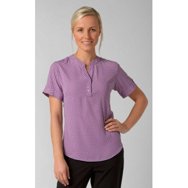 Blouses Vortex Designs Beth Short Sleeve Berry £25.00
