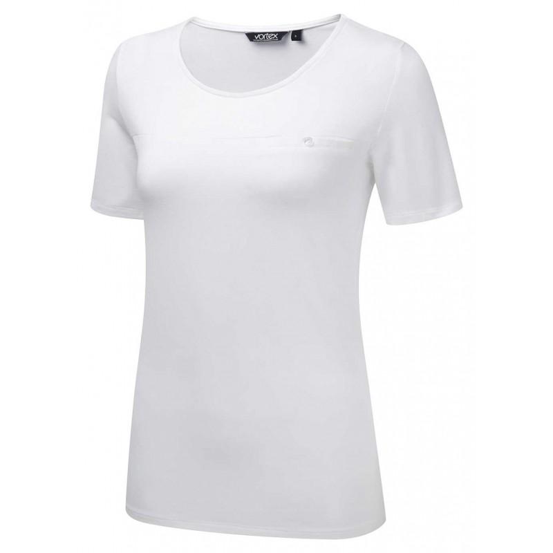 Tops Vortex Designs Daisy White £18.00