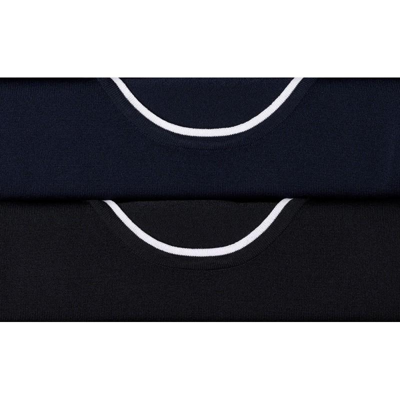 Knitwear Vortex Designs Gemma Navy/White £22.00