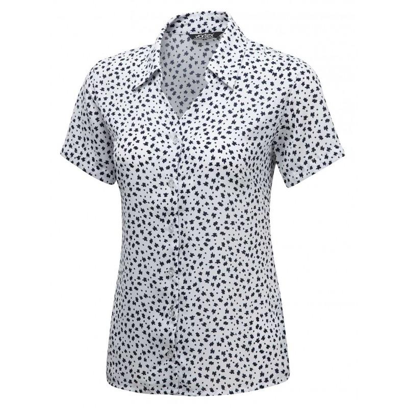 Blouses Vortex Designs Heidi Short Sleeve White £25.00