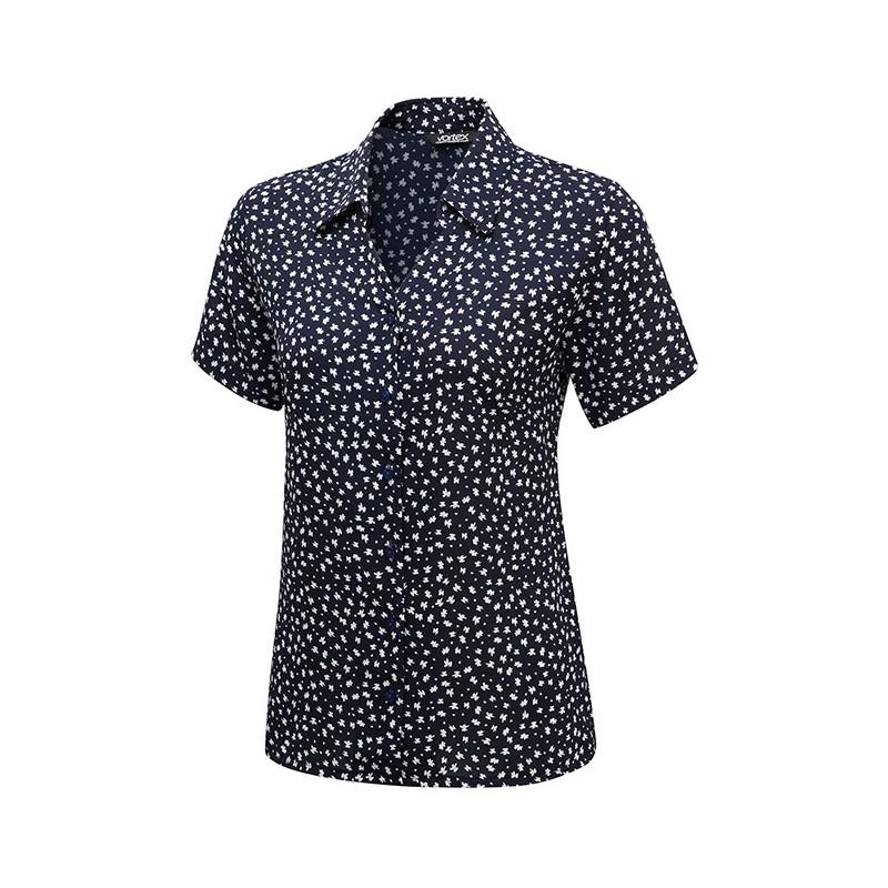 Blouses Vortex Designs Heidi Short Sleeve Navy £25.00