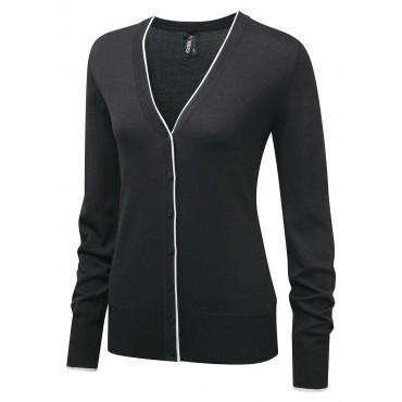 Knitwear Vortex Designs Jessica Charcoal/White £30.00