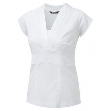 Blouses Vortex Designs Joanna Short Sleeve White £23.00