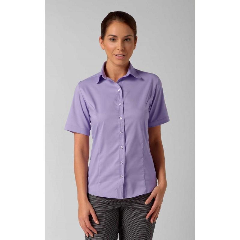 Blouses Vortex Designs Katy Short Sleeve Lilac £24.00