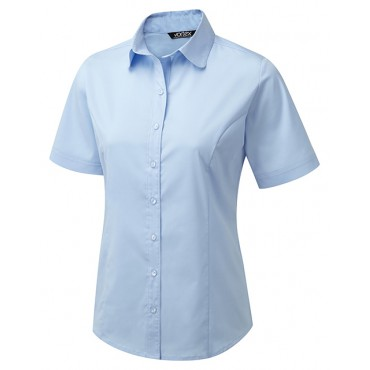 Blouses Vortex Designs Katy Short Sleeve Sky Blue £24.00