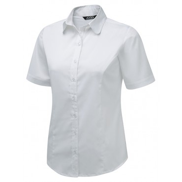 Blouses Vortex Designs Katy Short Sleeve White £24.00