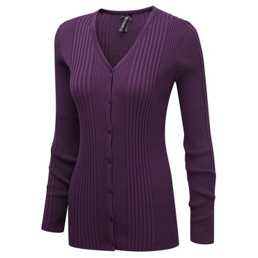 Knitwear Vortex Designs Kristin Long Sleeve Berry £32.00