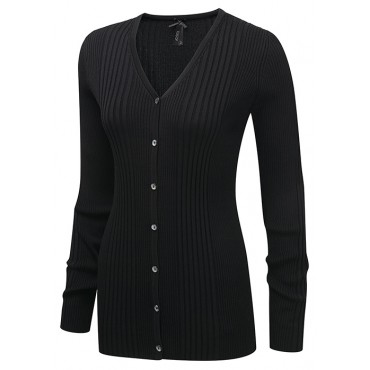 Knitwear Vortex Designs Kristin Long Sleeve Black £32.00