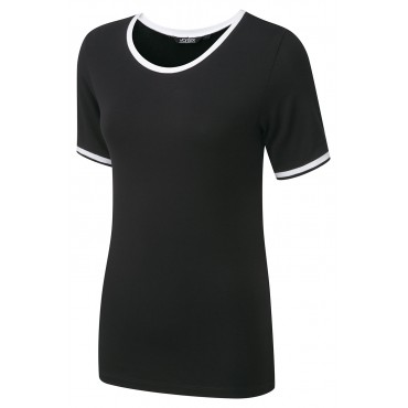 Tops Vortex Designs Lexie Short Sleeve Black £15.00