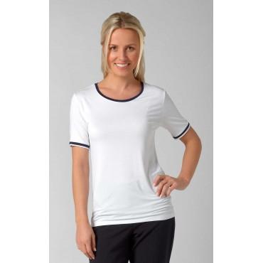 Tops Vortex Designs Lexie Short Sleeve White £15.00