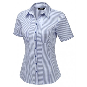 Blouses Vortex Designs Louise Blue £24.00