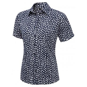 Tops Vortex Designs Olivia Short Sleeve Navy £24.00