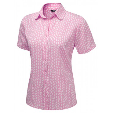 Tops Vortex Designs Olivia Short Sleeve Pink £24.00