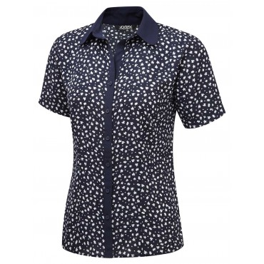 Blouses Vortex Designs Pippa Short Sleeve Navy £25.00
