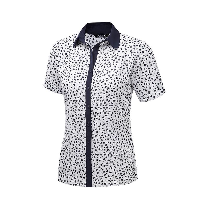 Blouses Vortex Designs Pippa Short Sleeve White £25.00