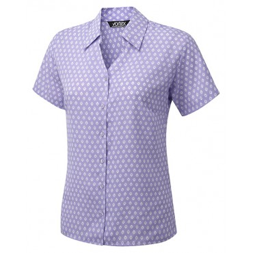 Blouses Vortex Designs Sofia Short Sleeve Lilac £25.00