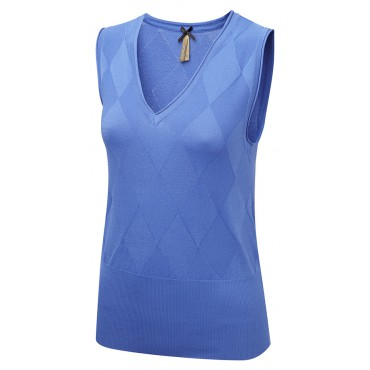 Tops Vortex Designs Talia Sleeveless Blue £21.00