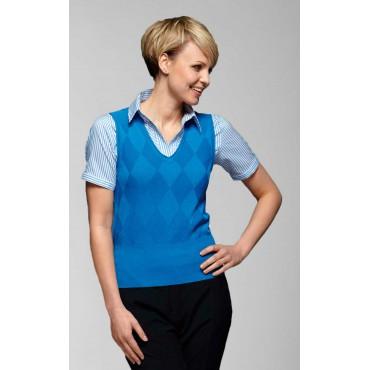 Tops Vortex Designs Talia Sleeveless Blue £21.00