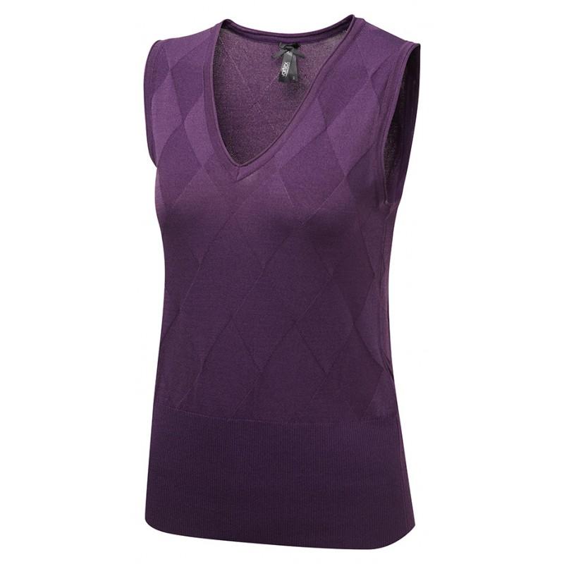Tops Vortex Designs Talia Sleeveless Berry £21.00