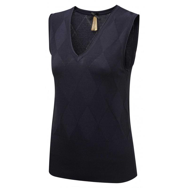Tops Vortex Designs Talia Sleeveless Navy £21.00