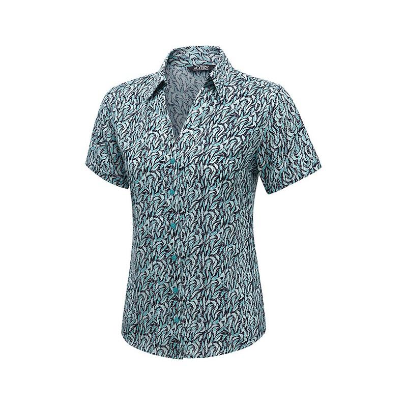 Blouses Vortex Designs Willow Short Sleeve Jade £25.00