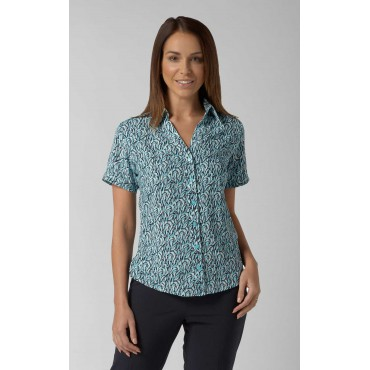 Blouses Vortex Designs Willow Short Sleeve Jade £25.00